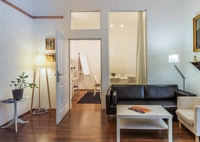 Meeting Raum 1 und Lounge
