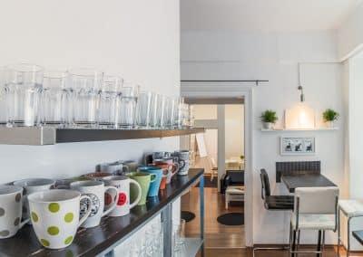 Kochbereich der Küche auf Top 21