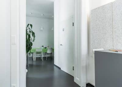 Eingangsbereich Oberdeck