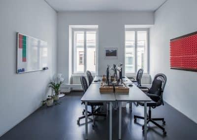 Büroraum am Oberdeck