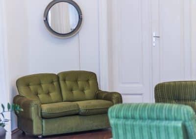 Loungebereich am Oberdeck